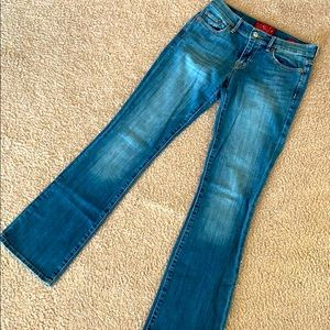 Lucky brand low rise jeans.